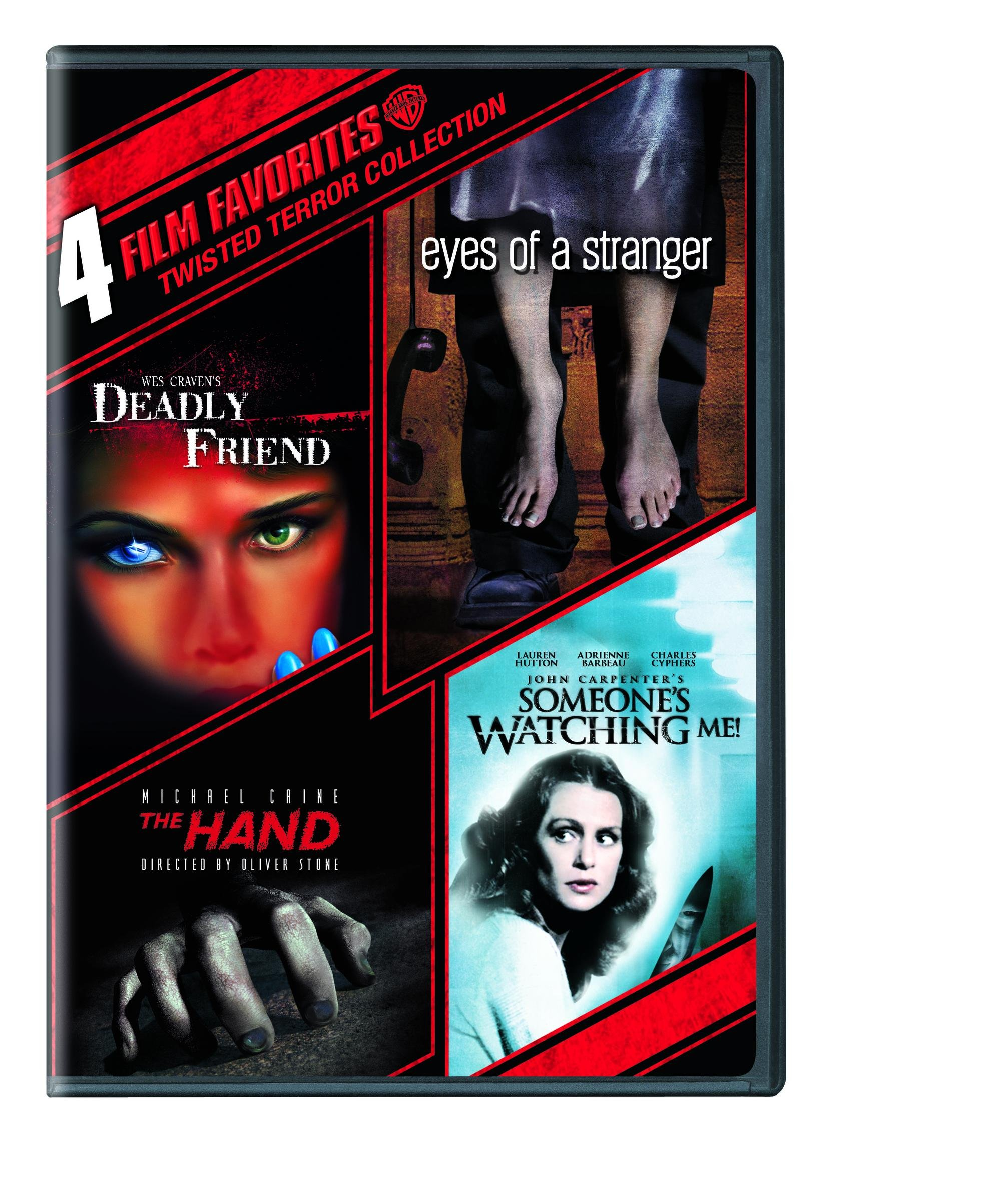 DVD : 4 Film Favorites: Twisted Terror Collection (Boxed Set, 4 Disc)