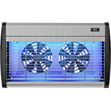 Hoont Powerful Electronic Indoor Bug Zapper with UV Light and Dual Fans – Covers 4,000 Sq. Ft. / Fly Killer, Insect Killer, Mosquito Killer – For Residential, Commercial and Industrial Use