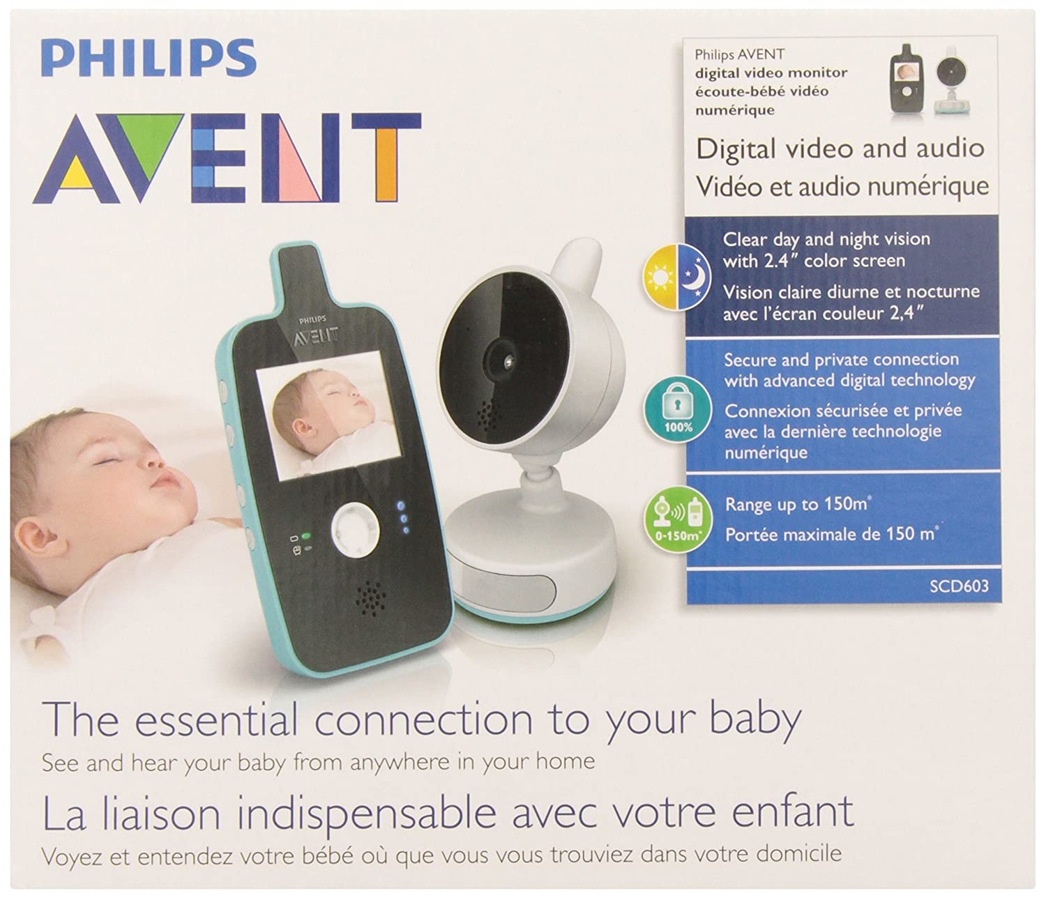 Highly Recommended High Quality Baby Monitor with Fantastic Day and Night Vision