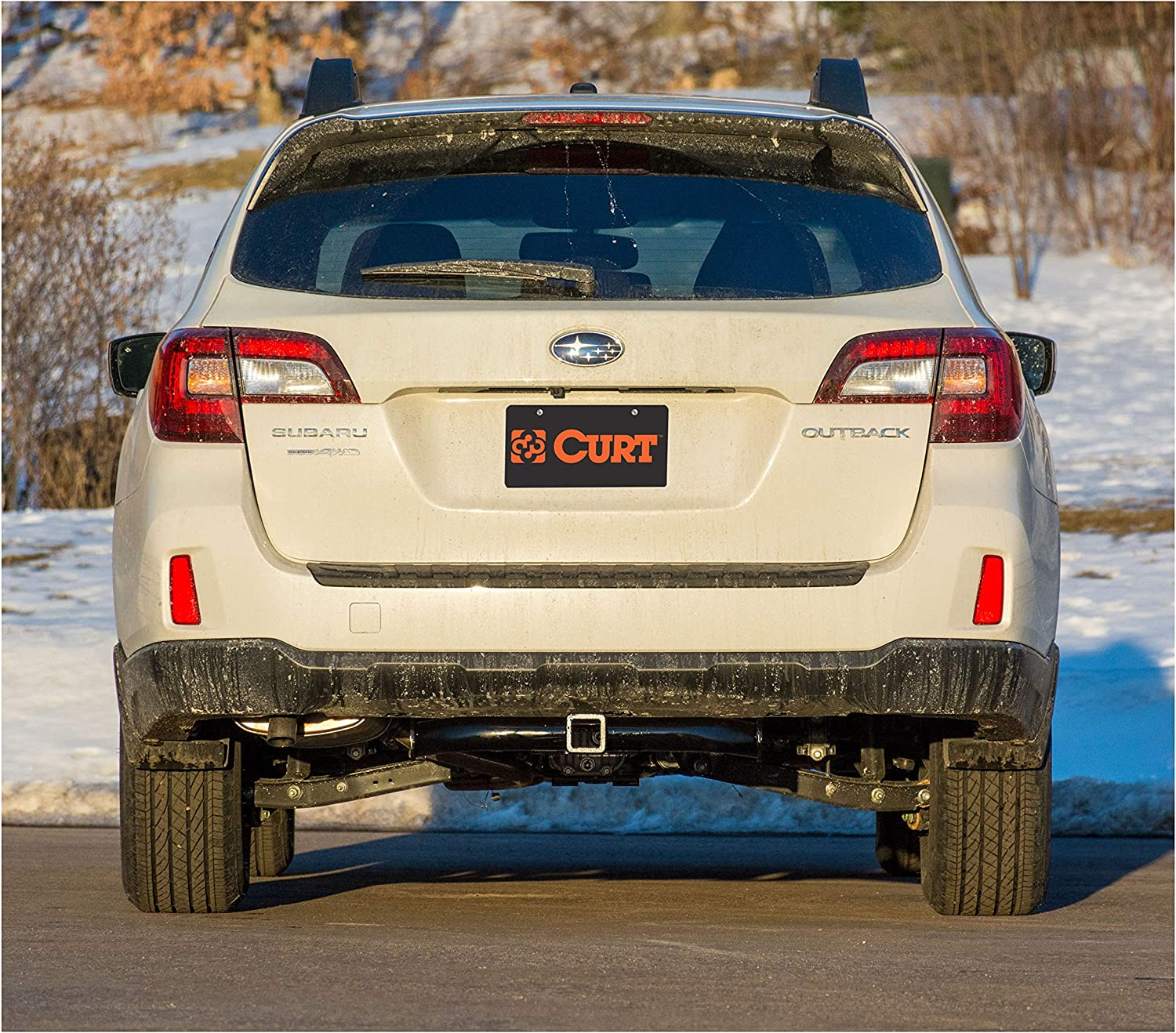 CURT 13206 Class 3 Trailer Hitch 2-Inch Receiver for Select Subaru Outback