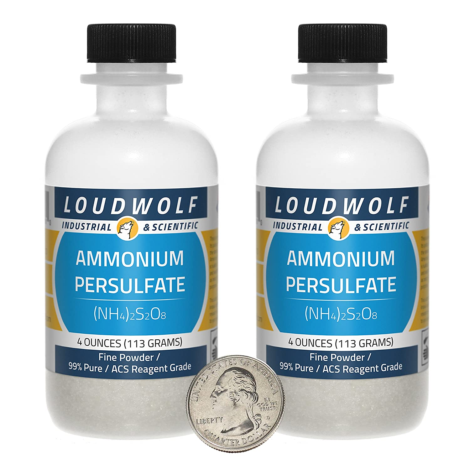 Ammonium Persulfate / Dry Crystals / 8 Ounces / 98% Pure / Copper Etchant / SHIPS FAST FROM USA