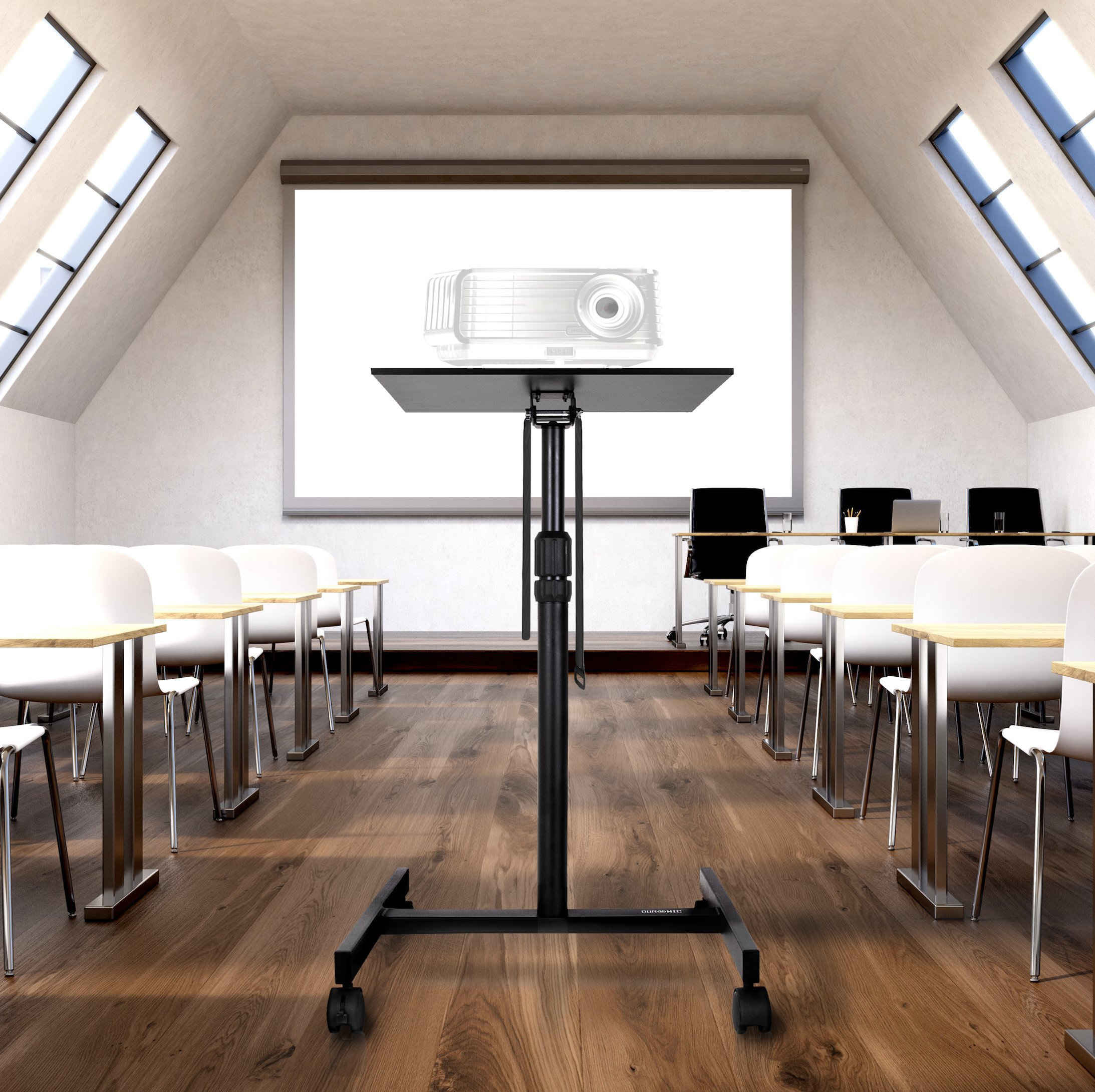 Projector Mounts Electronics Duronic Table Stand WPS20 Adjustable ...