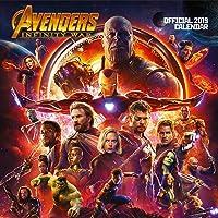 Marvel Avengers Infinity War Official 2019 Calendar - Square Wall Calendar Format