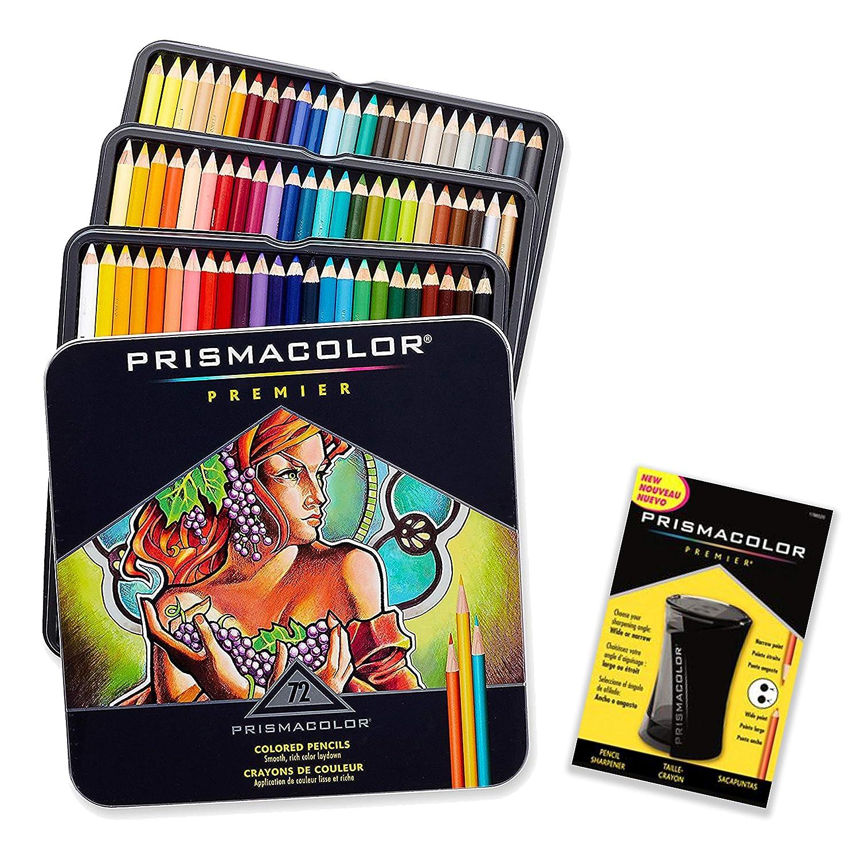 72 Lapices De Colores Con Sacapuntas, Prismacolor (xmp)