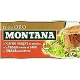 Montana Carne Gel Linea Oro 140g (Confezione da 2)