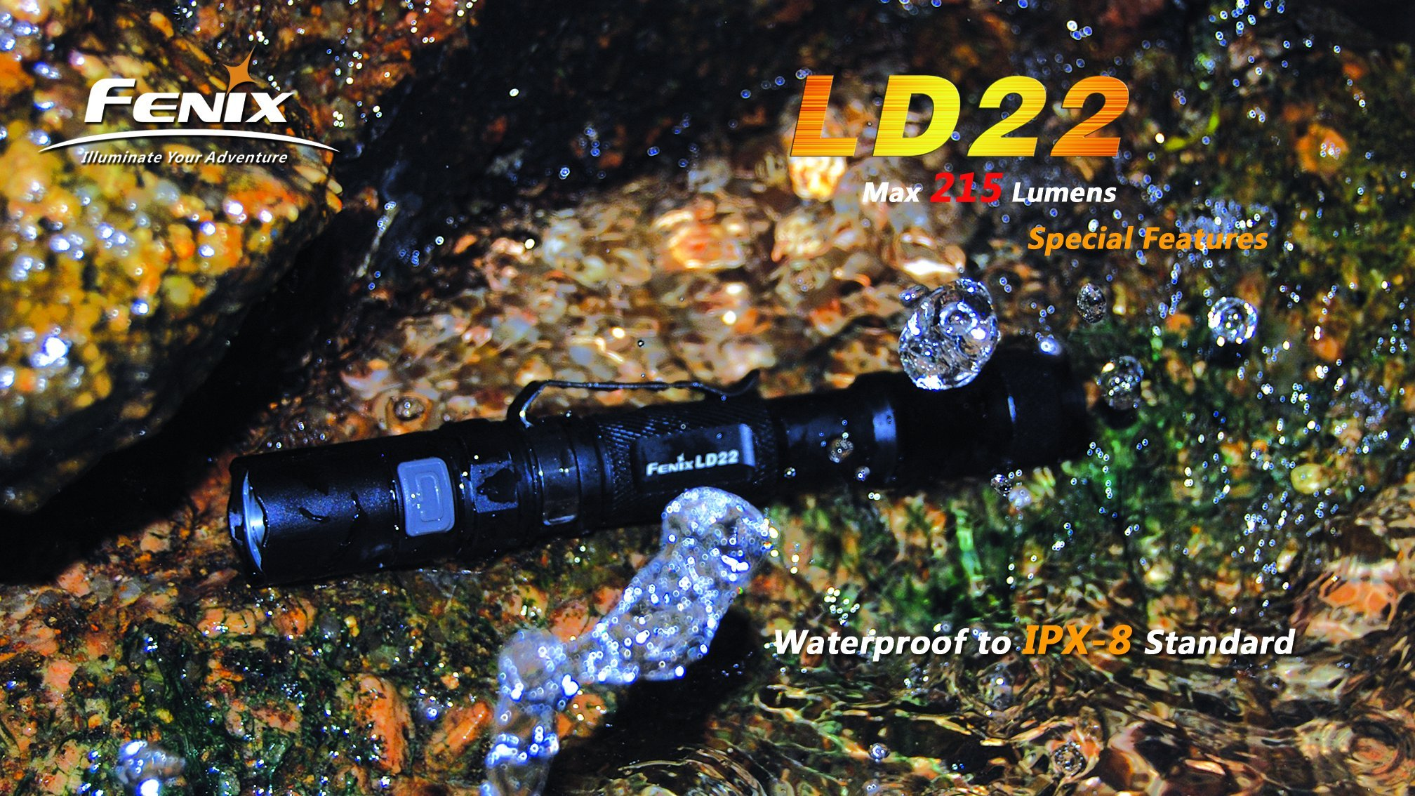 Fenix LD22 Flashlight, Black by Fenix (Image #4)