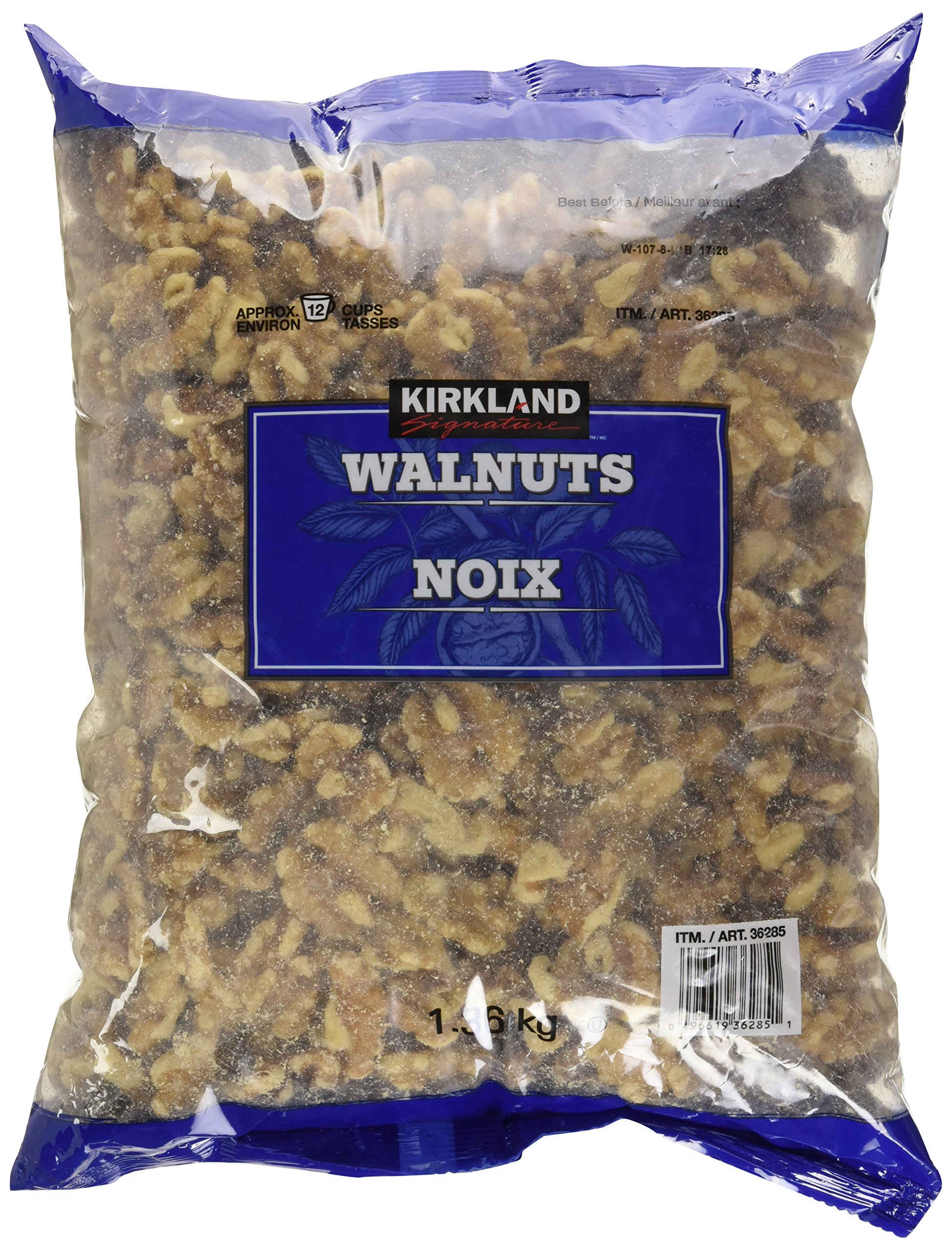 1.36kg. WALNUTS, Raw. Kirkland Signature. Fresh from Canada.