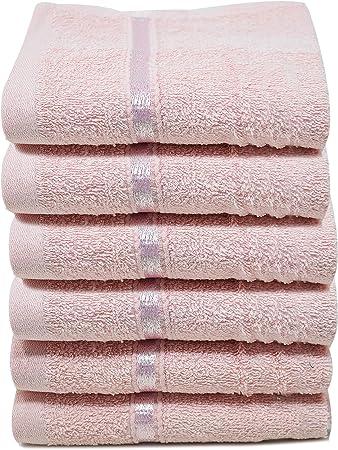 Towelogy® - Juego de Toallas de algodón Egipcio para la Cara (500 g/m², supersuaves y Muy absorbentes, 30 x 30 cm ...