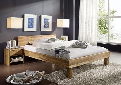 XXS muebles de madera maciza de roble 100 x 200 cm cama Campino ...