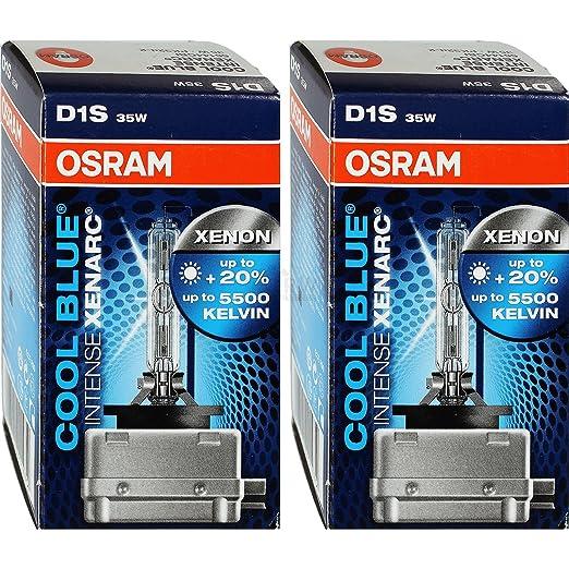 6 opinioni per Osram 66144CBI- 2 x Lampade allo xeno D1S Xenarc Cool Blue, 5000 K, 35 W