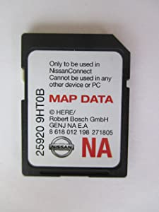 9HT0B NISSAN CONNECT SD CARD, NAVIGATION GPS MAP DATA, NAVTEQ,NORTH AMERICA US CANADA 2018 UPDATE, 25920-9HT0B,fits 14-15 ROGUE JUKE ALTIMA SENTRA XTERRA FRONTIER and 2015 NV200