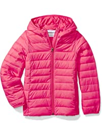 3fa4daec8b Amazon Essentials girls Water-Resistant Packable Hooded Puffer Jacket
