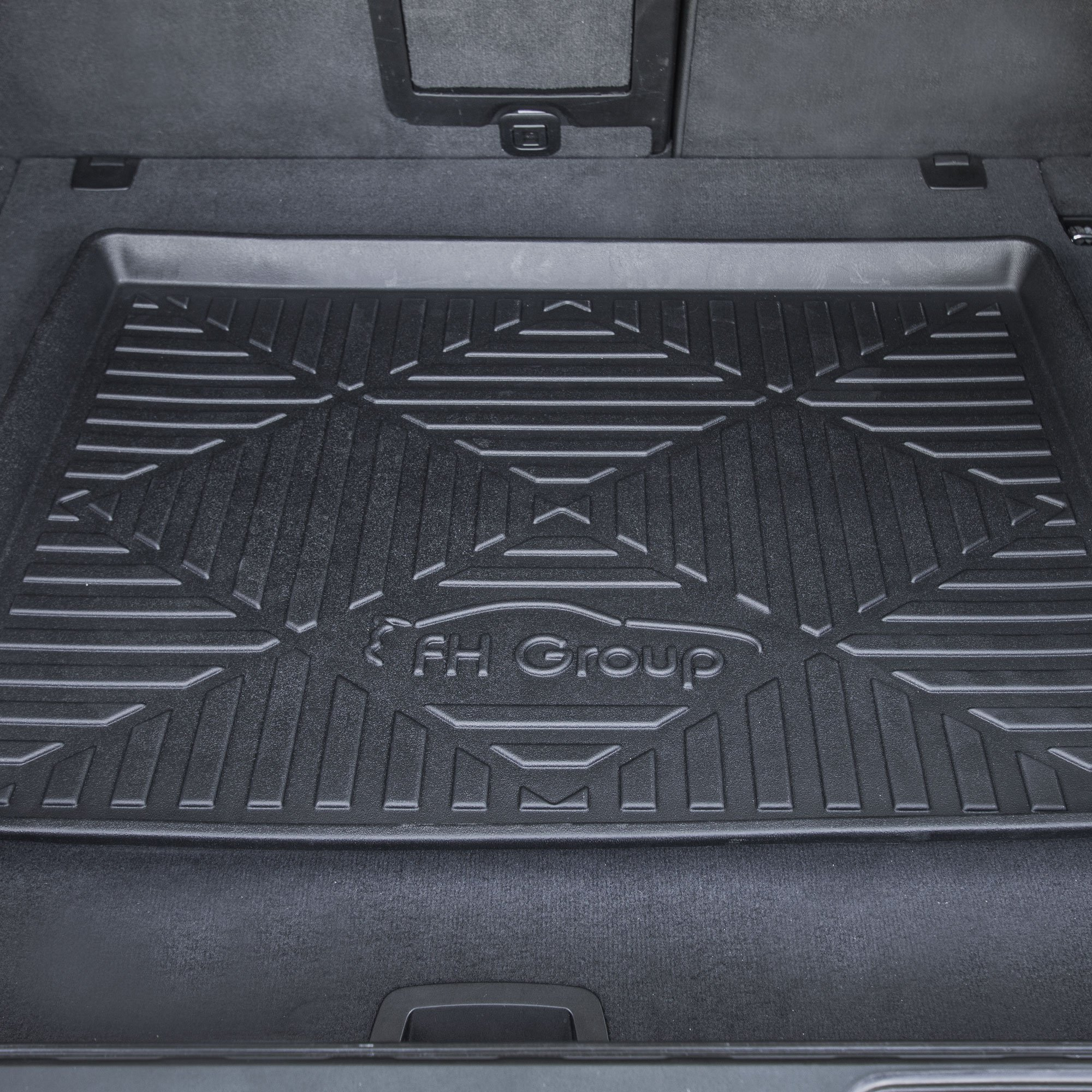 FH Group F16407-40 Premium Multi-Use Car SUV and Garage Trunk Mat Cargo Tray, 40'' x 32'' Black