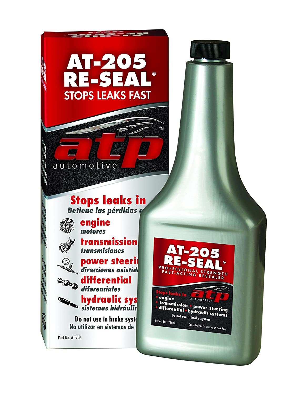 ATP AT-205 Re-Seal Stops Leaks, 8 Ounce Bottle