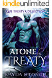 Atone By Treaty (Alien Shapeshifter Romance) (Qui Treaty Collection Book 8)