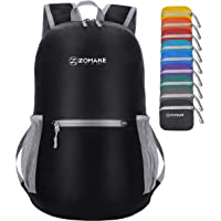 ZOMAKE Ultra Lightweight Packable Backpack Water Resistant Hiking Daypack,Small Backpack Handy Foldable Camping Outdoor…