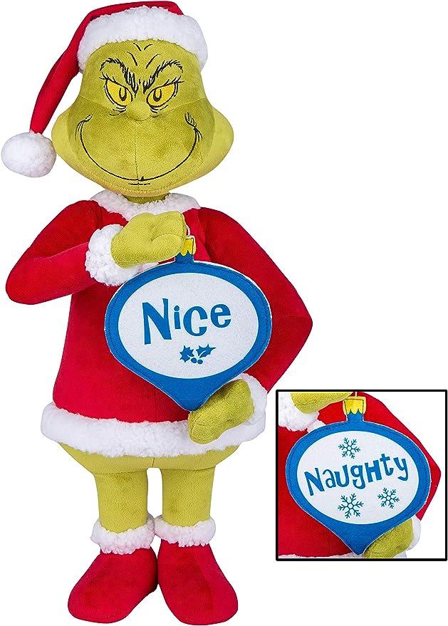 """48/"""" Naughty or Nice Christmas Sign Meter Indoor//Outdoor"""