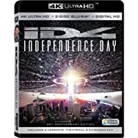 Independence Day Blu-Ray/4k-Uhd/20th Anniversary