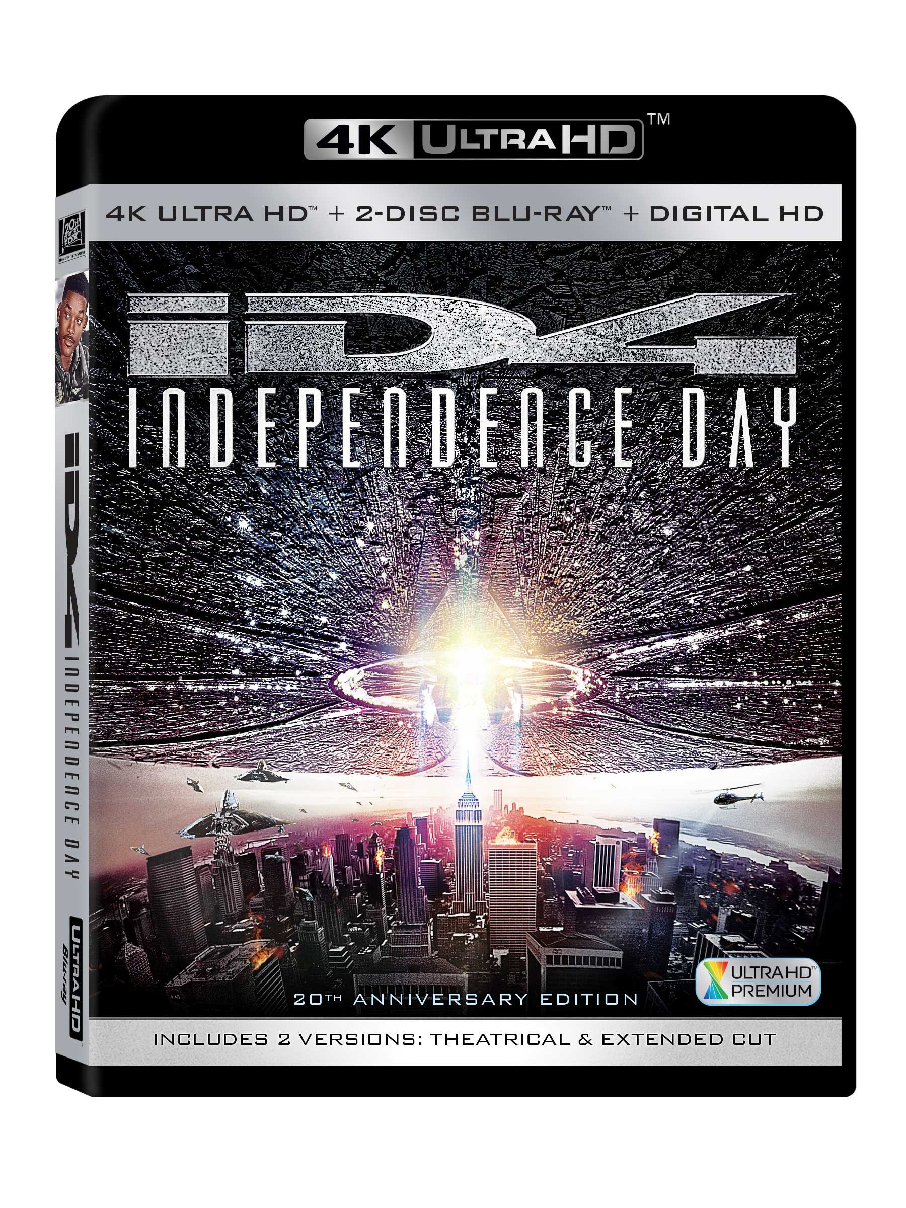 4K Blu-ray : Independence Day 20th Anniversary (Ultra HD)