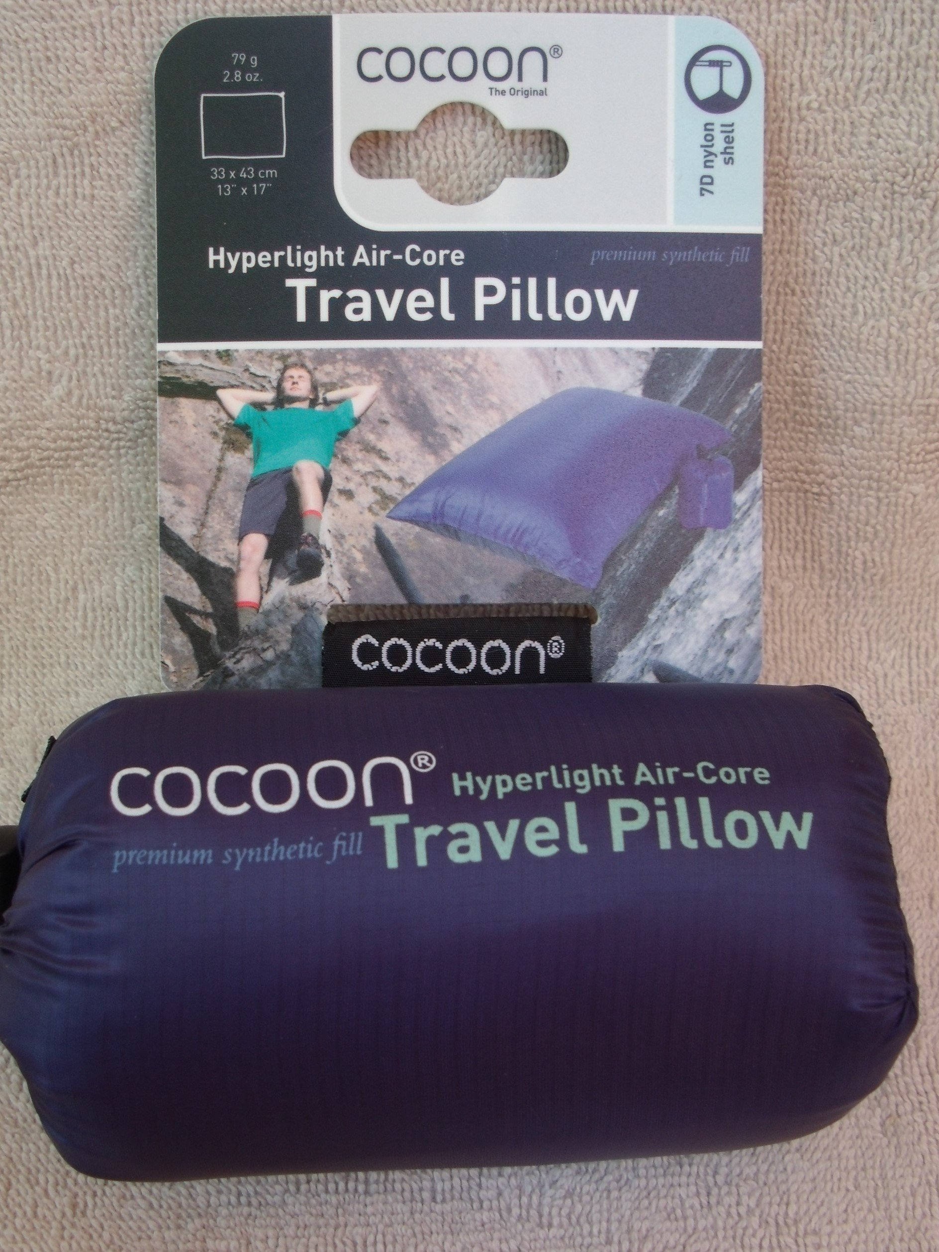 Cocoon Hyperlight AirCore Pillow by Cocoon