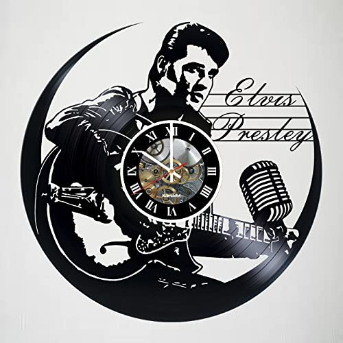 ELVIS PRESLEY Vinyl Record Wall Clock