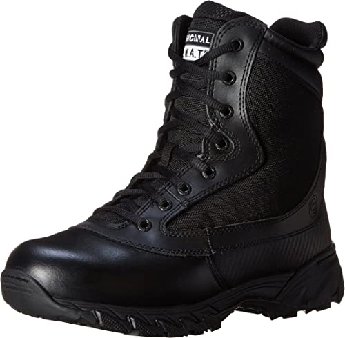 Men/'s Full Grain Black Durable Leather Chase Low Tactical Boot Original S.W.A.T
