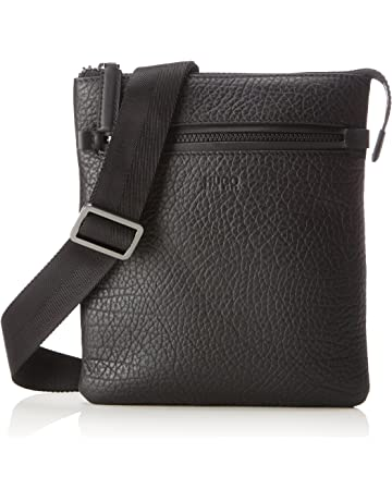 f3671afd12e HUGO Victorian_s Zip Env, Men's Shoulder Bag, Black, 1x26x23 cm (B x