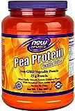NOW Sports Pea Protein Vanilla Toffee Powder, 2-Pounds