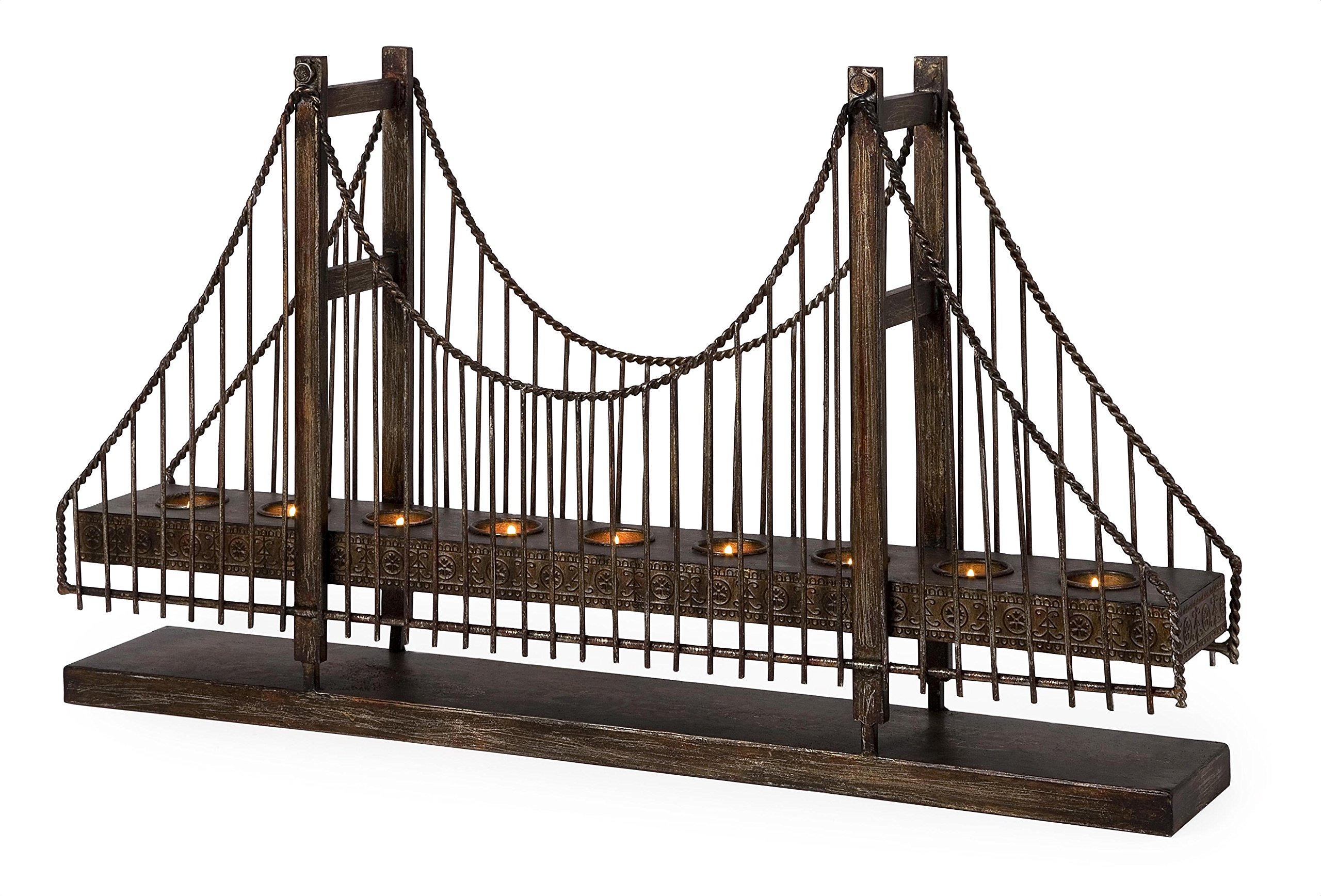 IMAX 12366 Suspension Bridge Candleholder by Imax
