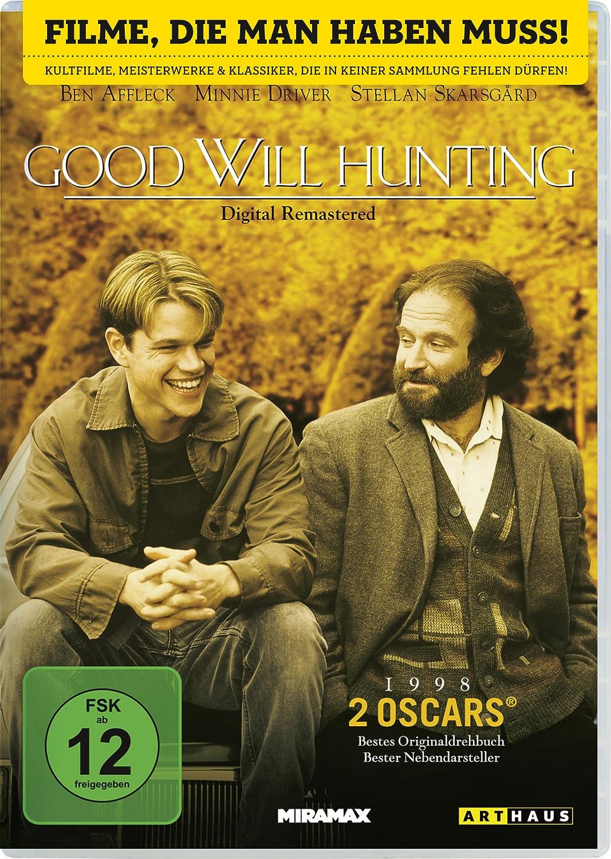 Amazon Com Good Will Hunting Movie Dvd 1997 Movies Tv
