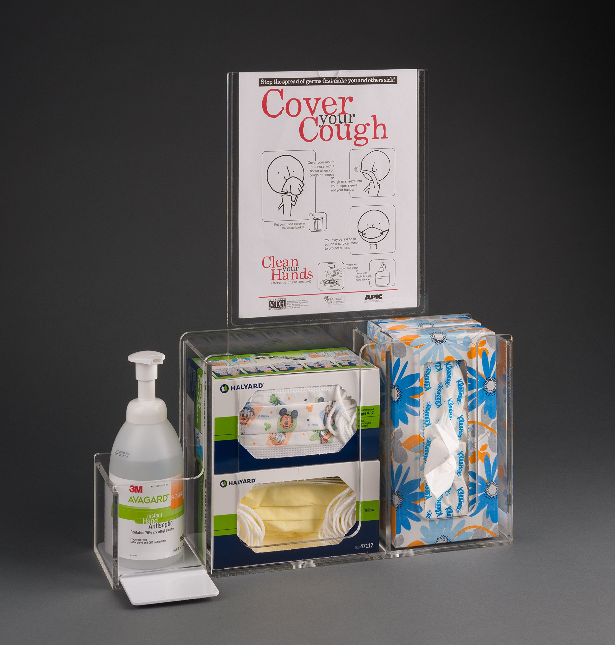Respiratory Hygiene Station I (with Stand) by Poltex (Image #2)