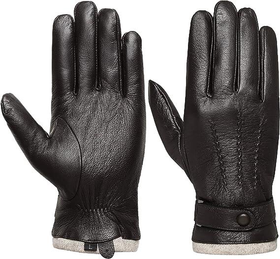 Acdyion Handschuhe Winter Damen Touchscreen K/ünstliches Wildleder super weiche Handschuhe Outdoor Fahrradhandschuhe dickes Fleecefutter Wildlederhandschuhe