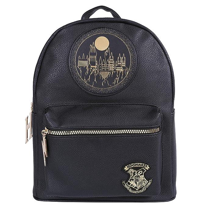 Mochila negra Hogwarts Harry Potter