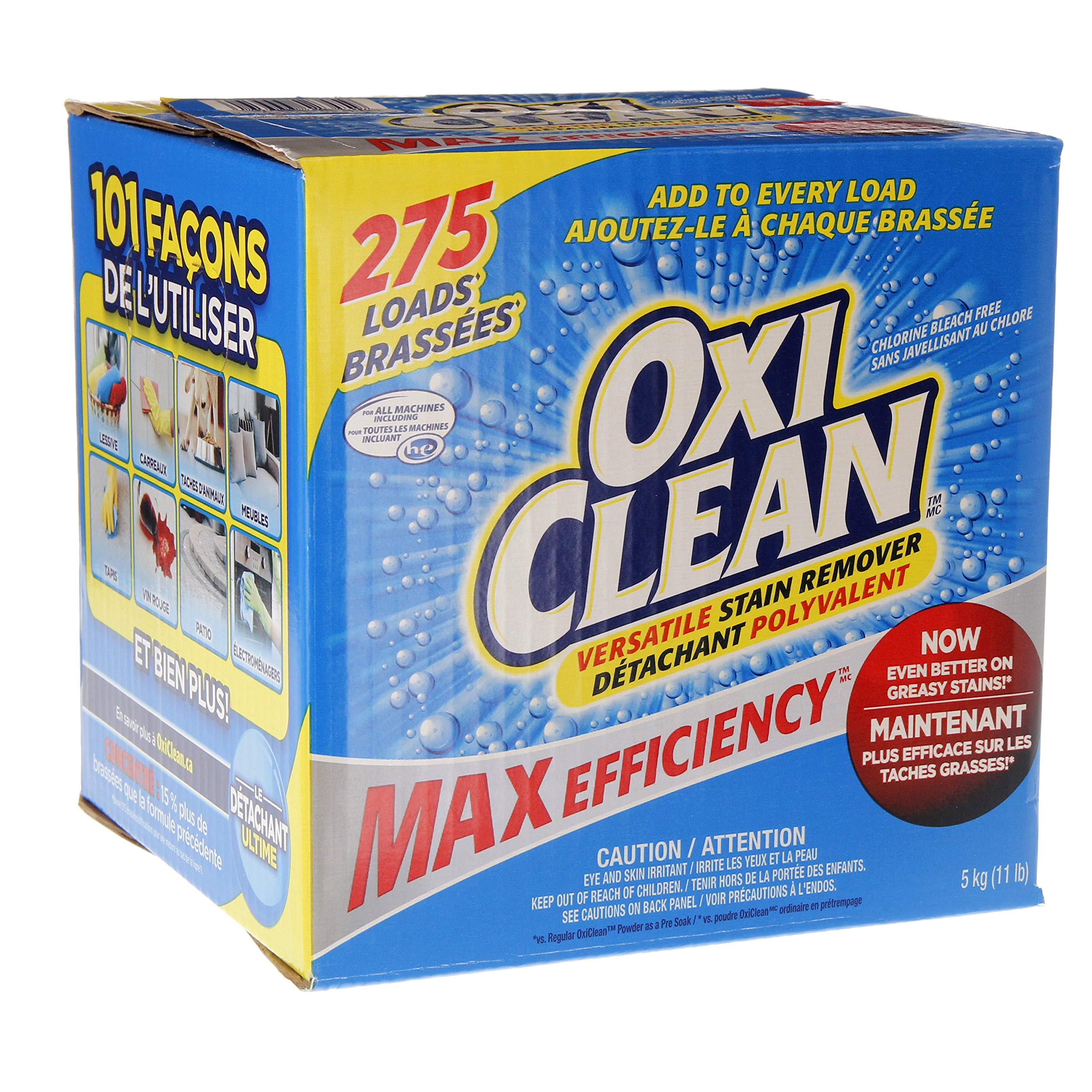 OxiClean Versatile Stain Remover, 275 Loads