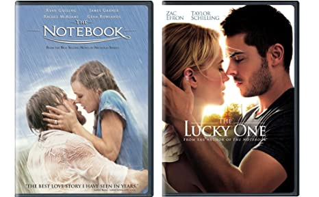 Amazon com: Nicholas Spark 2-Movie Bundle - The Notebook & The Lucky