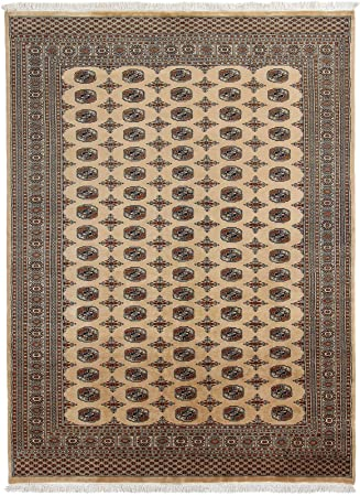 Carpetfine Pakistan Buchara 3ply Teppich 190x269 Beige Braun