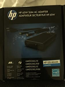 Hp 65w Slim With Usb Ac Adapter - 65 W For Notebook Smartphone Mp3 Player
