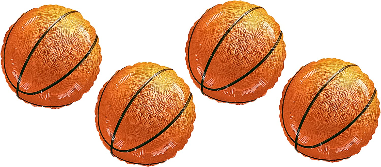 A2Z Balloons Juego de 2 Globos de Baloncesto de 18 Pulgadas, 4 en ...