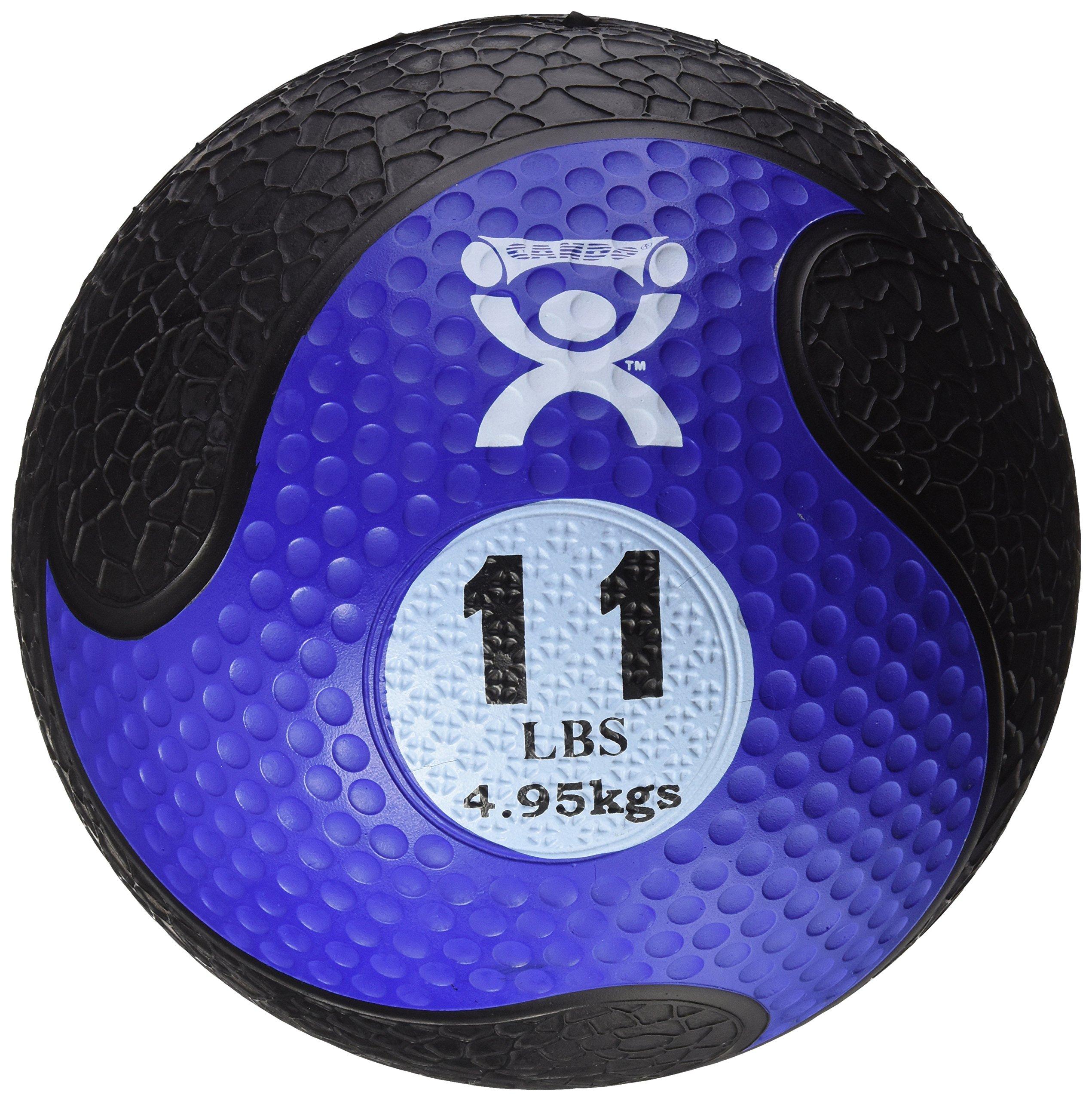 CanDo Bouncing Plyoball, Blue, 11 Pound