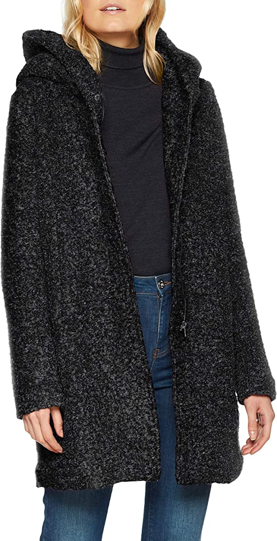 TALLA M. Only Onlsedona Boucle Wool Coat Otw Noos Abrigo para Mujer