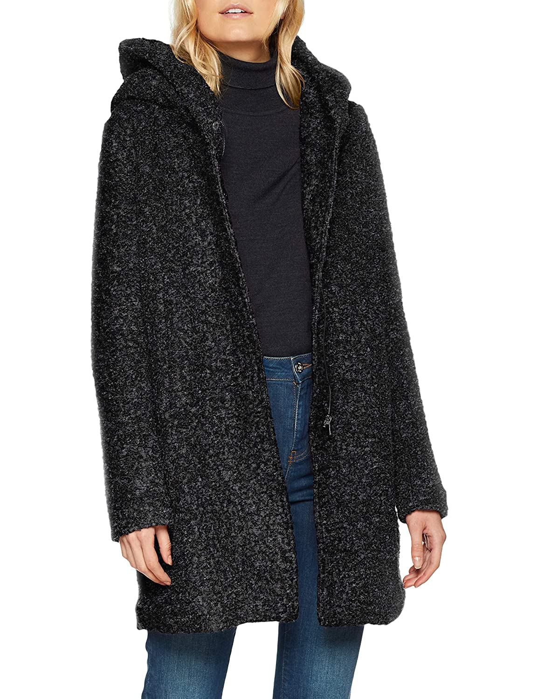 TALLA 40 (Talla del fabricante: Medium). ONLY NOS Onlsedona Boucle Wool Coat Otw Noos Abrigo para Mujer