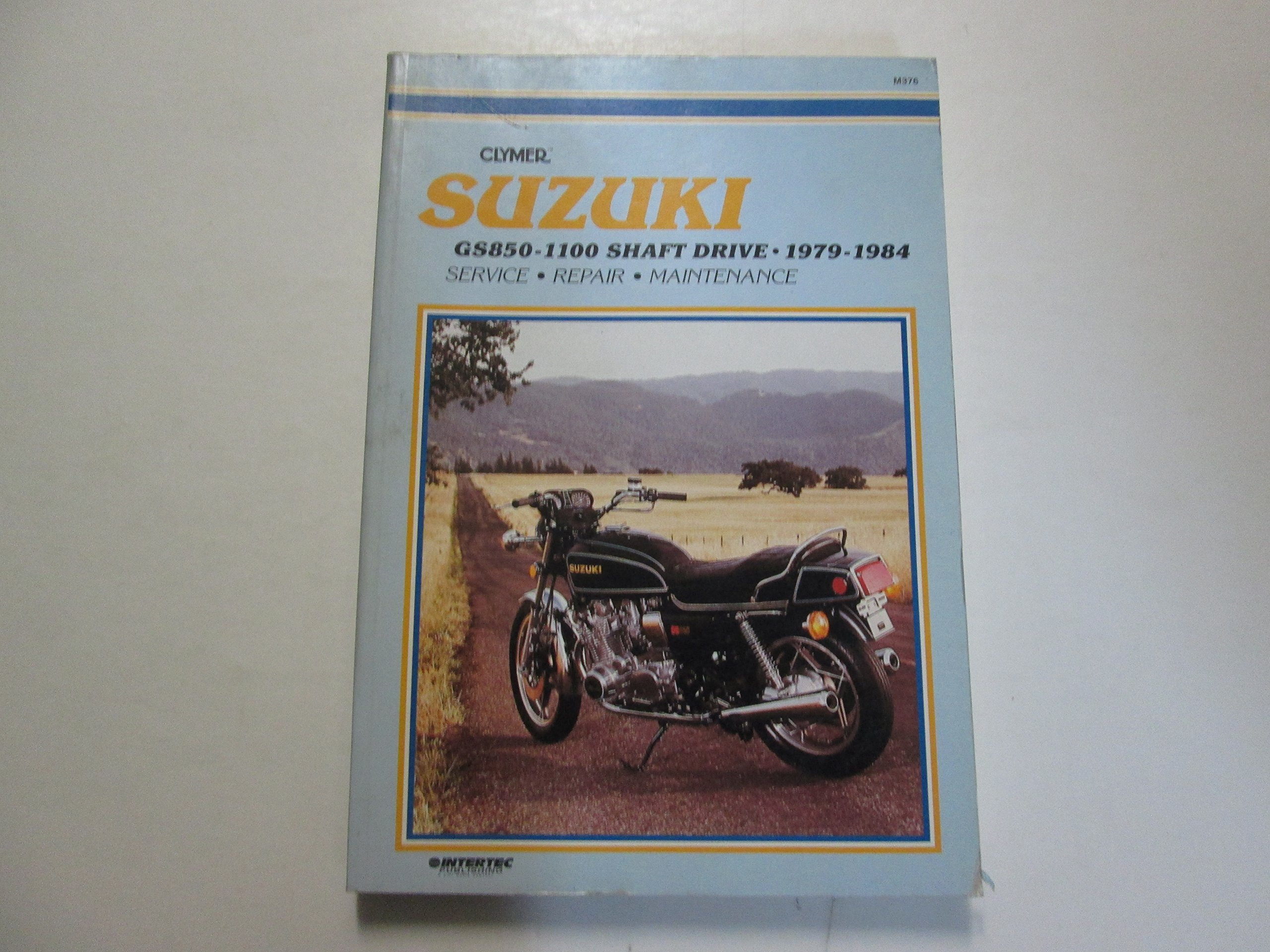 1979 1984 Clymer Suzuki GS850 1100 Shaft Drive Service Repair Maintenance  Manual: Suzuki: Amazon.com: Books