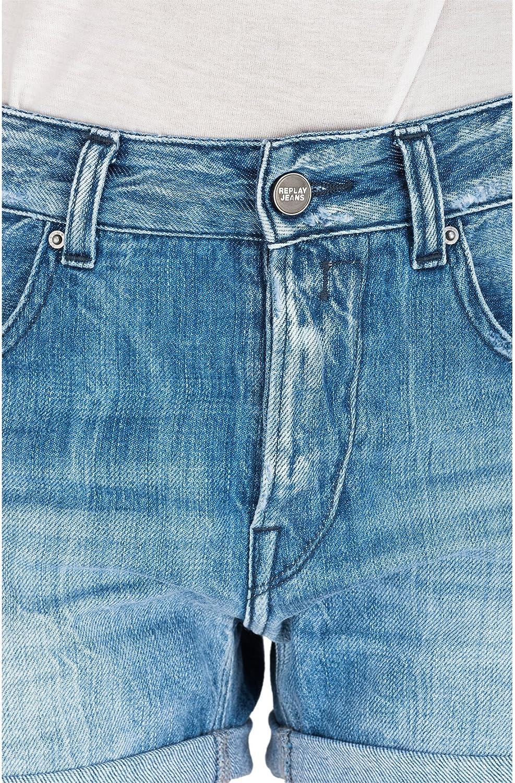 Replay Damen Jeansshort Shorts