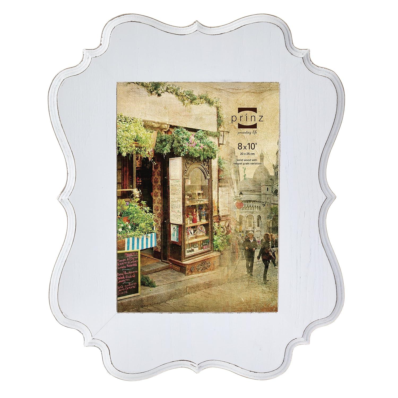 Amazon.de: PRINZ Annabelle Ashwood Furnier Holz Rahmen, weiß, 8x10-Inch
