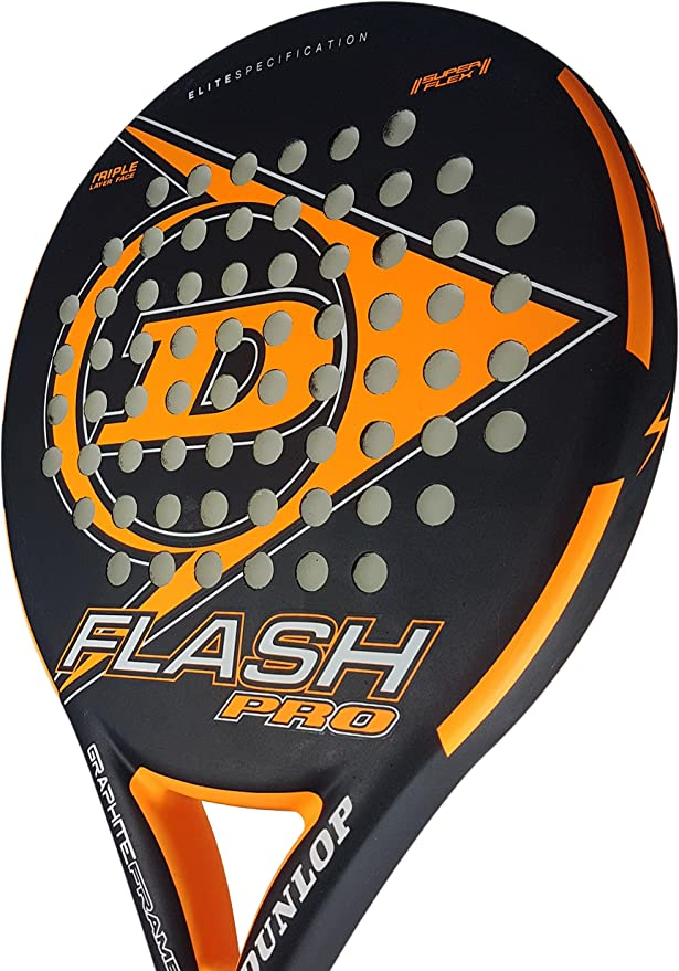 Dunlop FLASH PRO - Pala de pádel 38mm, 2018, nivel iniciación ...