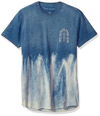 02c9af466 Amazon.com: True Religion Men's Short Sleeve Elongated Arch Graphic ...