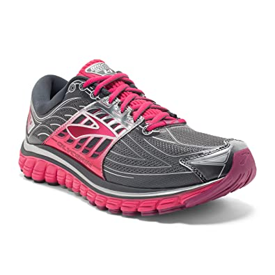 3372cf04502e7 Brooks Women s Glycerin 14 Anthracite Azalea Silver Sneaker 10 2A - Narrow   Buy Online at Low Prices in India - Amazon.in