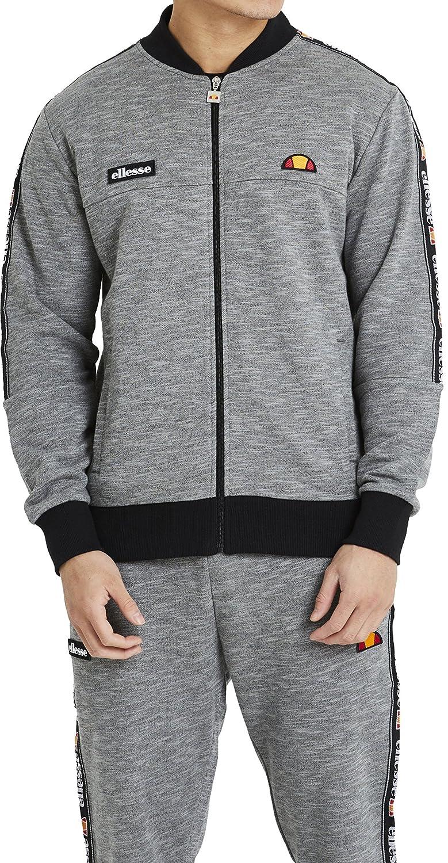 Ellesse Men's Joyner Logo Tracktop Jacket, Grey SHU03702