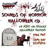 Sounds Of Horror CD für Halloween, gruselige Musik