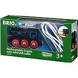 Brio GmbH Brio World 33599 - Akku Lok mit Mini USB, Bunt